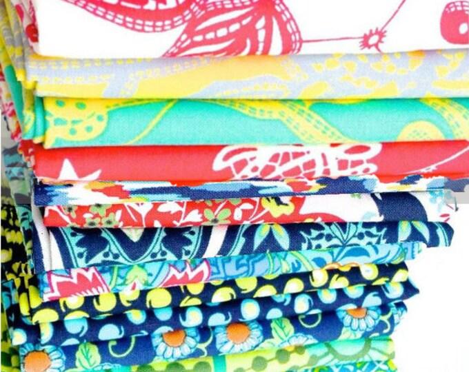 Amy Butler LARK 15 FQs, fat quarter bundle set