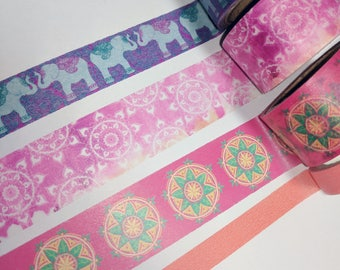 Boho Washi Tape Samples