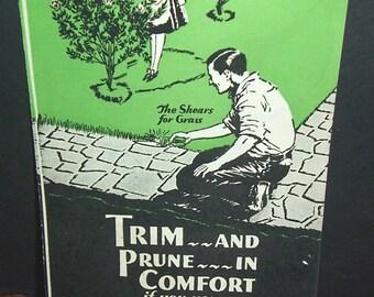 1920s Doo-Clip pruner/trimmer brochure