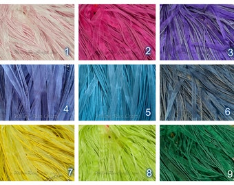 "20 Organza Ribbon Cord Necklaces  24"" Length, You Pick Your Colors."