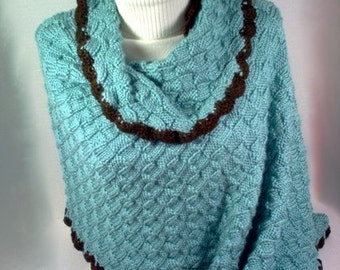 Knitting Pattern shawl Sweet Home Alabama inspired as seen in June July 2011 Let's Knit Magazine INSTANT DOWNLOAD