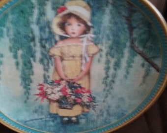 Knowles easter plate 1986