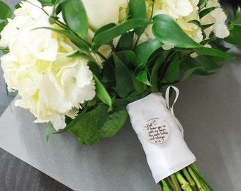 Custom Bouquet Charm, Wedding Bouquet Charm,  Wedding Memorial Charm, Wedding Keepsake, In Memory Of