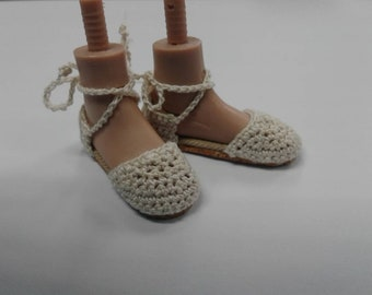 "Tonner 16"" Espadrilles (Made to Order) for flat feet"