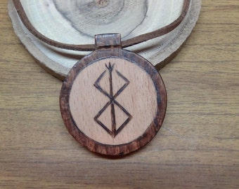Mens gift for men celtic jewelry celtic mens necklace gift for boyfriend gift viking jewelry warrior berserk jewelry berserker runes jewelry