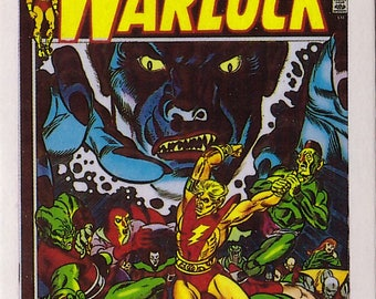 Marvel #1 The Power of the Warlock Comic Card from 1984 FTCC