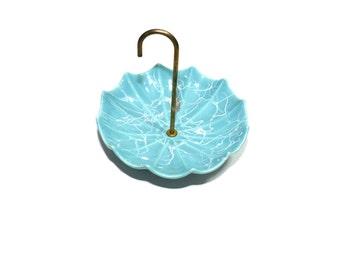 Umbrella Candy Dish Ceramic Umbrella Candy Dish Blue Umbrella Dish Baby Shower Gift Baby Boy