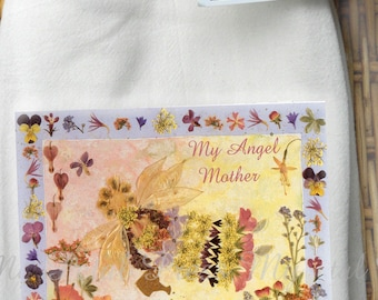 2 Mother's Day Flour Sack Tea Towels