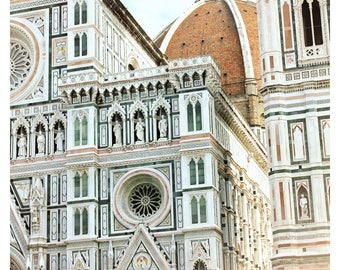 Il Duomo di Firenze, Florence photography, architecture art print, travel photography, Italy art print, fine art photography, 16x24 print