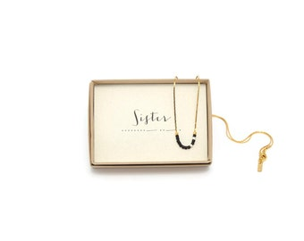 SISTER || Sister Morse Necklace, Sister Gift, Sister Necklace, Sister In Law, Sister Birthday Gift, Big Little Sister, Morse Code Jewelry