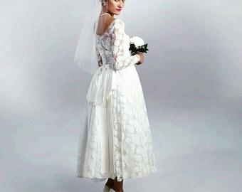 Vintage 1950's Bridal dress ON SALE!