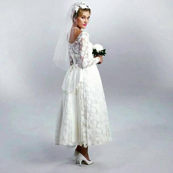 Vintage 1950\'s Bridal dress ON SALE