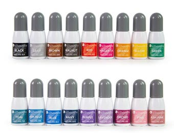Silhouette Mint Ink - Mint Stamp Ink, Ink Bottles for Mint, Silhouette Ink for Mint, Stamp Ink for Mint, Special Ink, 5 ml bottle