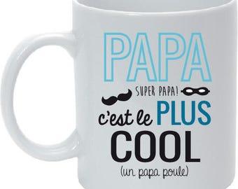 Dad personalized dad mug
