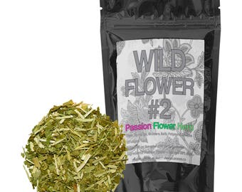 Passionflower Herb Dried Herbal Tea Wild Flower #2 (4 ounce)