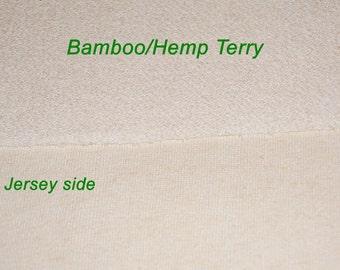 Hemp/Bamboo French Terry Fabric