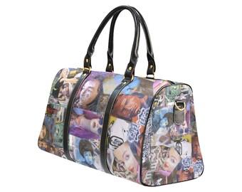 Graffiti Barcelona Large Travel Bag