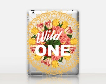 Wild One Transparent iPad Case For - iPad 2, iPad 3, iPad 4 - iPad Mini - iPad Air - iPad Mini 4 - iPad Pro
