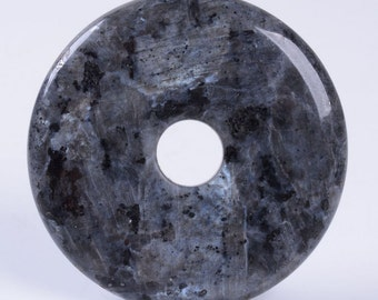 g2721.3 50mm Labrvikite donut focal pendant bead