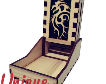 Forest Dragon Dice Tower