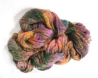 Changeling. Fire Flowers. Kid Mohair/Mulberry Silk/Nylon