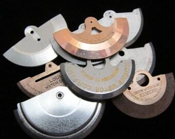 Destash Steampunk Watch Clock Parts Backs Movements Assemblage Industrial Art Grab Bag RP 6