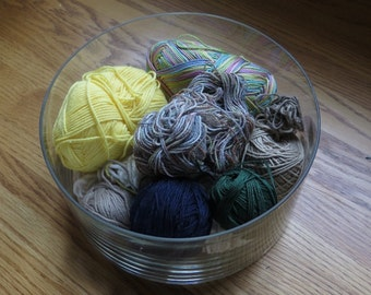 Destash Yarn Lots - WOW - -Beautiful Wide Range of Colors Greens Yellows and more - Some  novelty yarn -- various fibers