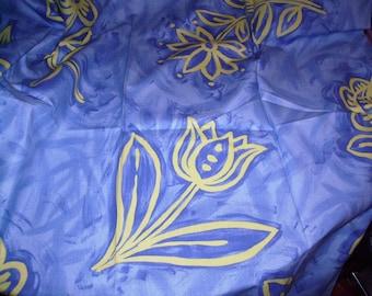 Cotton fabric large designs - 135x75cm
