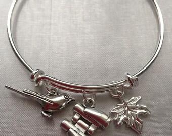 Bird watcher/lover bracelet