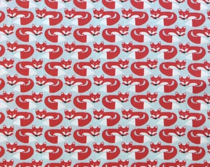 Organic Cotton Fabric - Monaluna Fox Hollow - Foxy Too