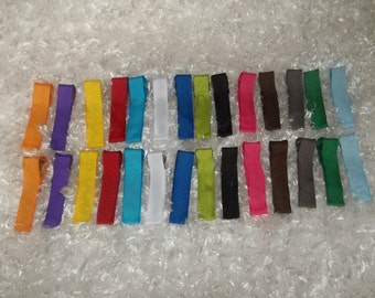 New -50 Partially lined Alligator Clips