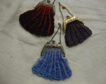 doll beaded purses