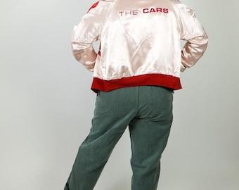 The Cars reversible satin 1970's tour jacket