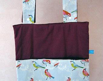 Pajama bag or tidies up blanket