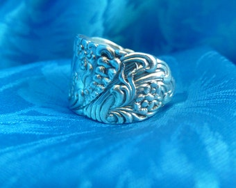 Spoon Ring Sterling Silver