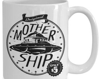 Scifi mug || Original mothership only 5 || Scifi mug for him || Scifi mug for her ||Scifi model gift||Scifi model ||Scifi model gift for him