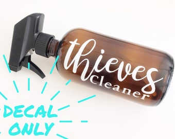 Thieves Cleaner (decal only)