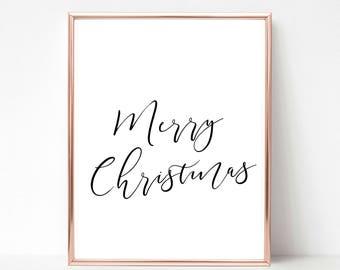 Merry Christmas, Christmas Printable, Christmas Print, Christmas Printable Wall Art, Christmas Printable Art, Christmas Printable Decoration