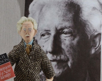 Erik Erikson Doll Miniature Psychologist And Author