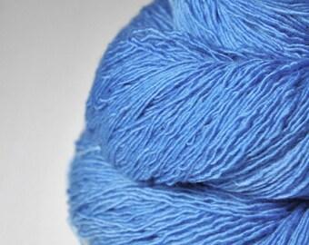 Summer sky - Merino / Baby Camel Fingering Yarn - Hand Dyed Yarn - handgefärbte Wolle - DyeForYarn