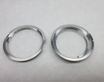 Pentax lens adapters to mount m42 screw mount lenses to K mount or C/Y cameras