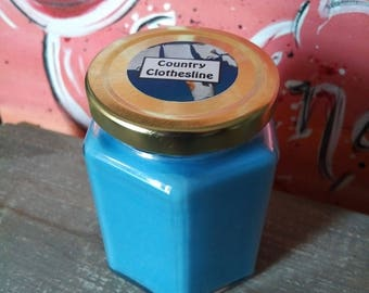 8 Oz Country Clothesline Scented Candle