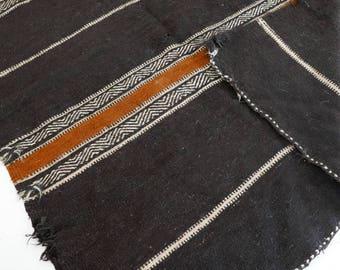 Alfombra de lana marroquí Vintage - Kilim SHADOUI