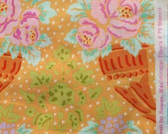Kaffe Fassett Stencil apricot GP 79 Westminster Rowan Fabrics 2/3 yard or more