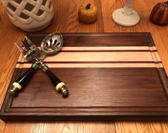 Cutting Board, Edge Grain Cutting Board, Hardwood cutting board, Cheese board