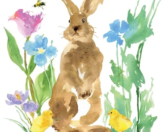 BUNNY PAINTING 614