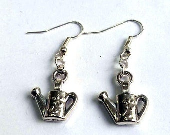 Watering Can Earrings - Gardening Earrings - Allotment Earrings - Garden Earrings