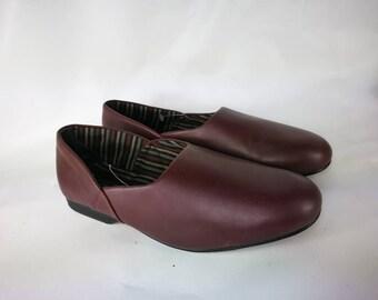 Clarks man vintage shoes Bordeaux leather chaussure homme cuir shoes leather Mens 95