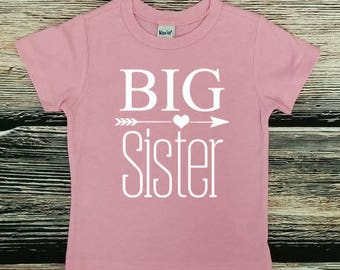 Big Sister Shirt, Big Sis shirt, New sibling shirt