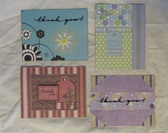 Homamade Thank You Greeting Cards, each card sold seperately